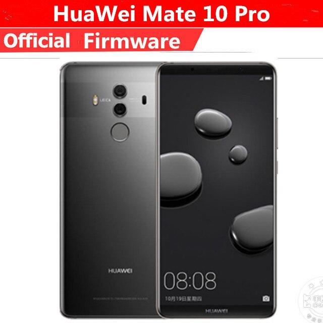 US $379 8 10% OFF|Global Firmware Huawei Mate 10 Pro mobile phone Android  8 0 6GB RAM 128GB ROM 4000mAh 6 0