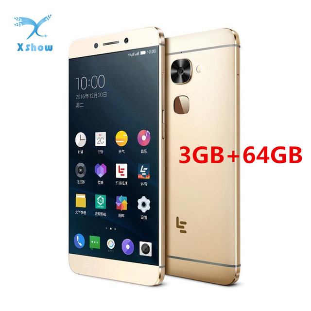 US $62 89 |LeEco LeTV Le X526 3GB RAM 64GB ROM 16 0+8 0MP Camera Snapdragon  652 1 8GHz Octa Core 5 5 Inch Android 6 0 4G LTE Smartphone-in Mobile