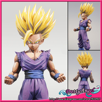 Original BANPRESTO Master Stars Piece MSP Overseas Limited Edition Dragon Ball Z Collection Figures Super Saiyan Son Gohan