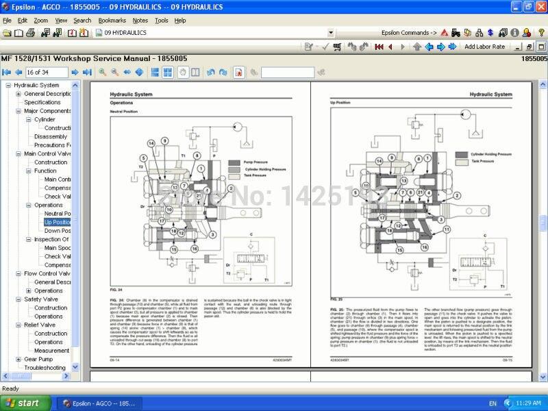 Инструкции по ремонту Massey Ferguson USA 2019 NA