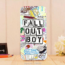 hot Fall Out Boy Quotes colorful Soft Silicon clear TPU Skin case for iphone6 6S i7