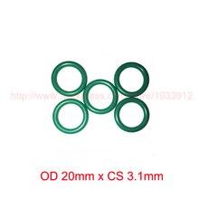 OD 20mm x CS 3.1mm viton fkm rubber sealing o ring oring o-ring