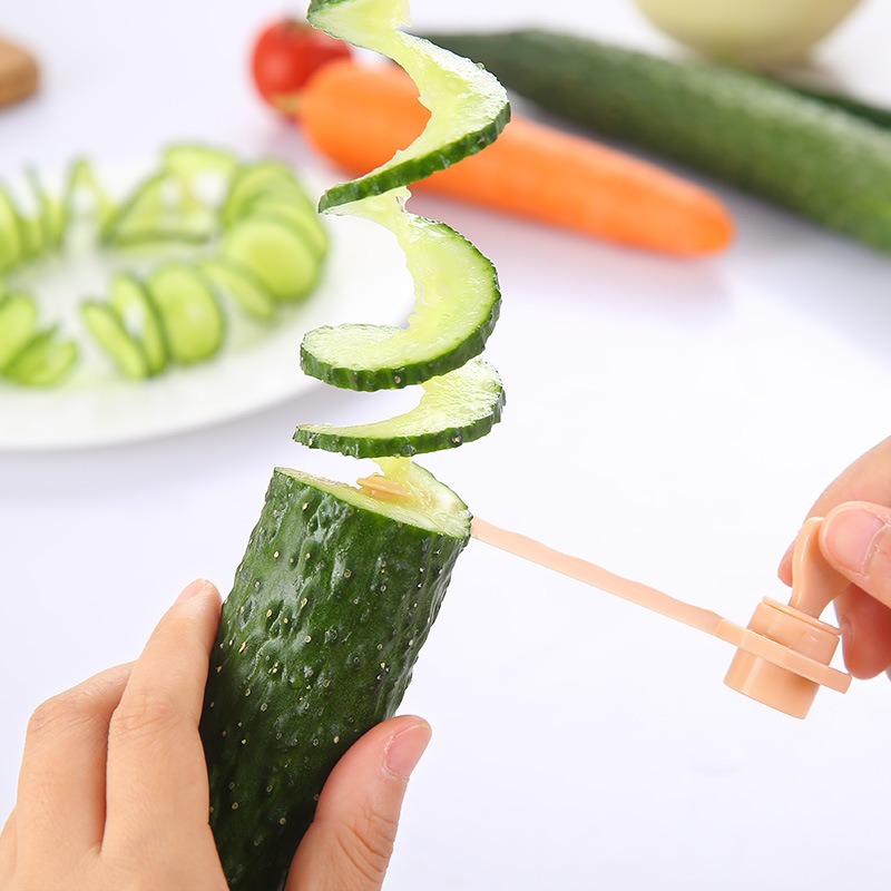 Fruit And Vegetable Spiral Slicer Kitchen Cutting Potato Vegetable Pattern Carved Flowers