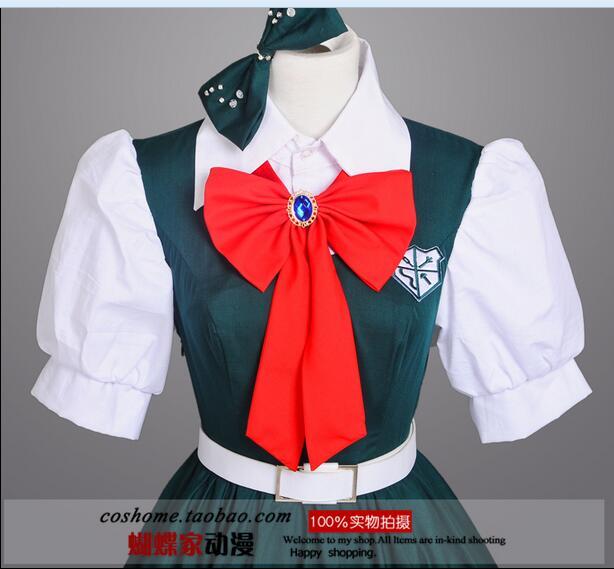 Gunstige Japanischen Anime Super Danganronpa 2 Sonia Nevermind Cosplay Kostume Sayonara Zetsubo Gakuen Schuluniform Fur Frauen In