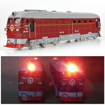 Train Model Inertial Train Train Toy Plastic Light Multicolor Train Sound Educational Learning Automation Interesting Game Kid фото