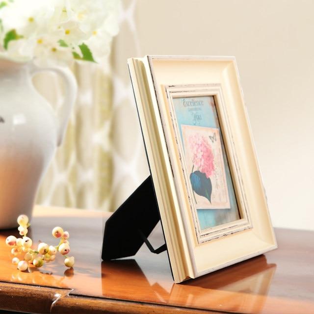Online Shop White Blue Gold Wedding Photo Frames,Mini Picture Frames ...