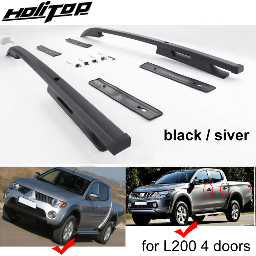 New arrival roof rack roof rail roof bar for Mitsubishi L200 TRITON,excellent ISO9001 quality,superior 7075 class aluminum alloy