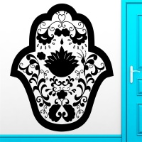 Wall Sticker Vinyl Decal Hamsa Talisman Amulet Cool Decor