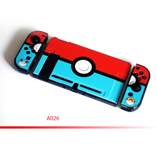 Nintend Switch NS Accessories Hard PC Protective Pattern Hard Skin Nintendos Crystal Shell for Nintendo Switch Console  4