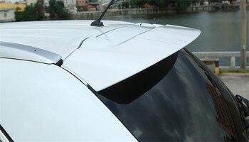 Abs 펀치 무료 플라스틱 뒷 트렁크 부츠 립 윙 리어 스포일러 for mitsubishi outlander 2016 2017 2018 자동차 스타일링