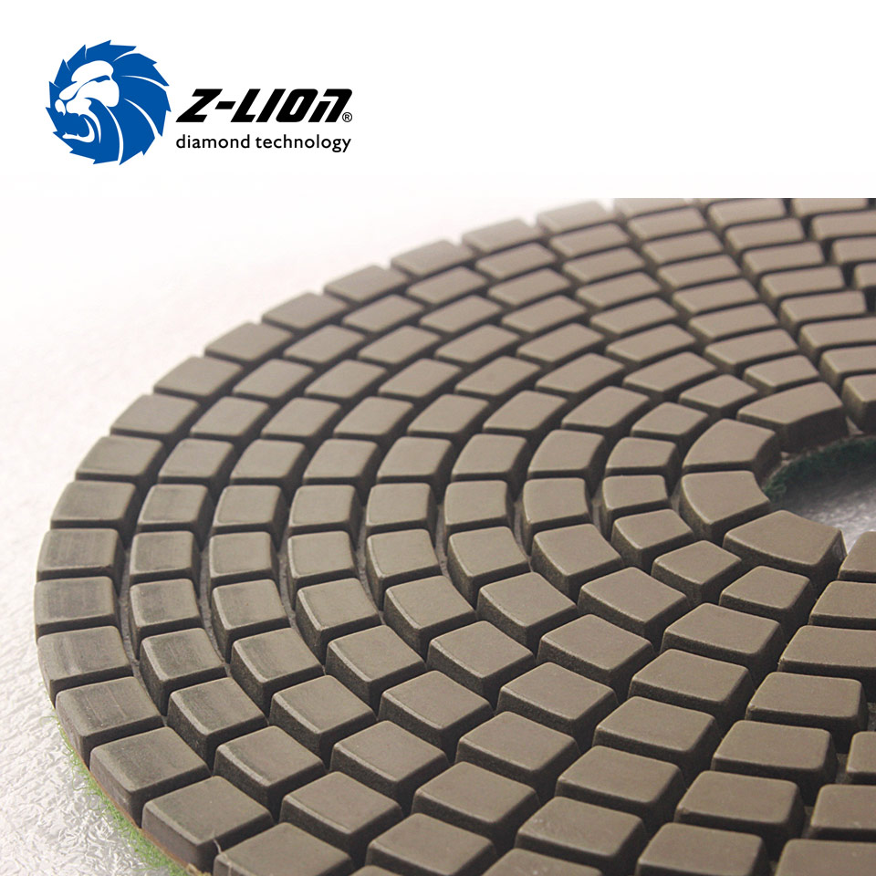 Z Lion 5 125mm Diamond Grinding Disc Wet Polishing Buffing Pad
