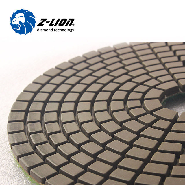 Z Lion Mm Diamond Grinding Disc Wet Polishing Buffing Pad - Buffing ceramic tile floors