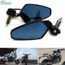 Moto Motorcycle aluminum 7/8 22mm handlebar rod end side mirror universal motorbike For Triumph Speed Triple Street Triple R triple page 7