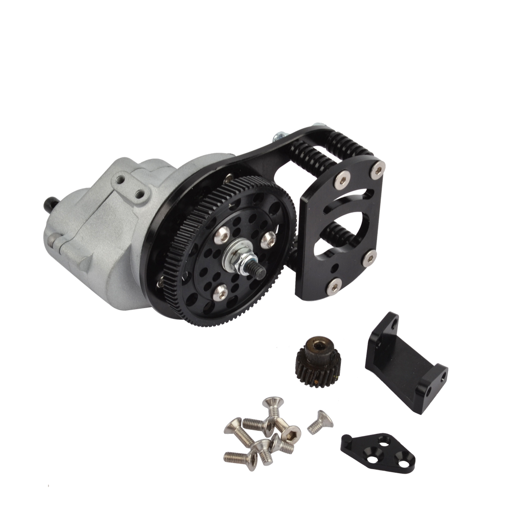1 10 RC Metal Transmission With Case Motor Gear And Mount Holder For 1 10 RC