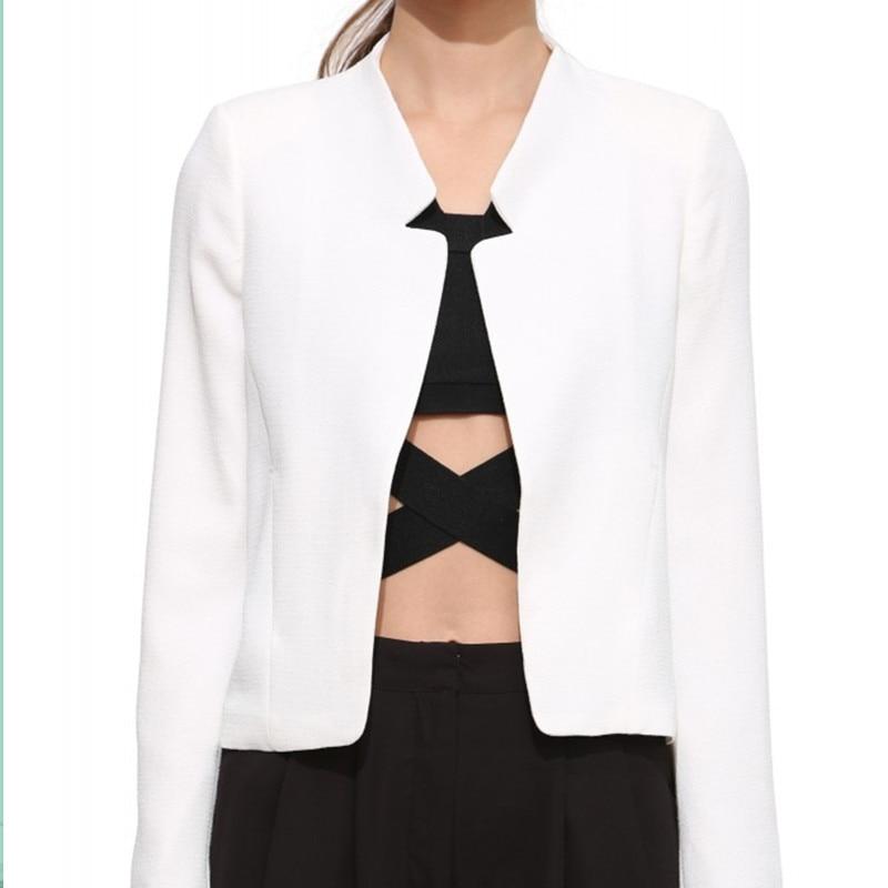 2018 Women Blazer Jackets New Fashion Solid Casual Coat Blazer Feminino chaqueta mujer women blazers and suit jacket female