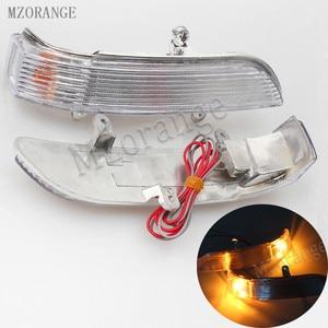 Image 1 - Автомобильное Зеркало, светодиодный указатель поворота бокового зеркала светильник для Great Wall Hover для Haval H5 H3 2005 2012, дверь, зеркало заднего вида, светильник s