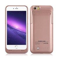 Ince Harici iphone 6 6 s 4.7 inç için 3500 mAh Şarj Edilebilir Pil Kutusu Koruyucu Meyilli Vaka bankası kılıf için iPhone 6