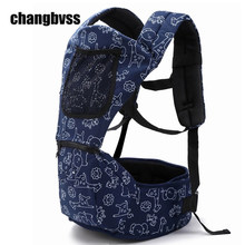 Cute Cartoon Printed Baby Carrier Front Carry Portabebes Infant Backpack High Quality Baby Hip Seat mochila infantil manduca
