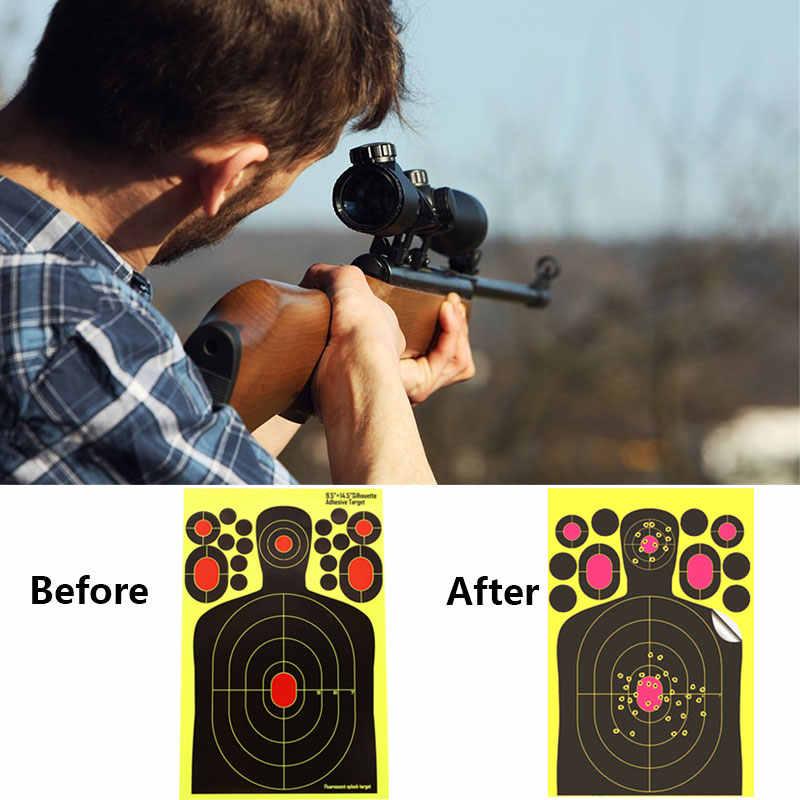 الرماية ورقة الرماية قوس الصيد التدريب الأصفر بندقية بندقية الاقتصادي في الهواء الطلق ممارسة هنتر
