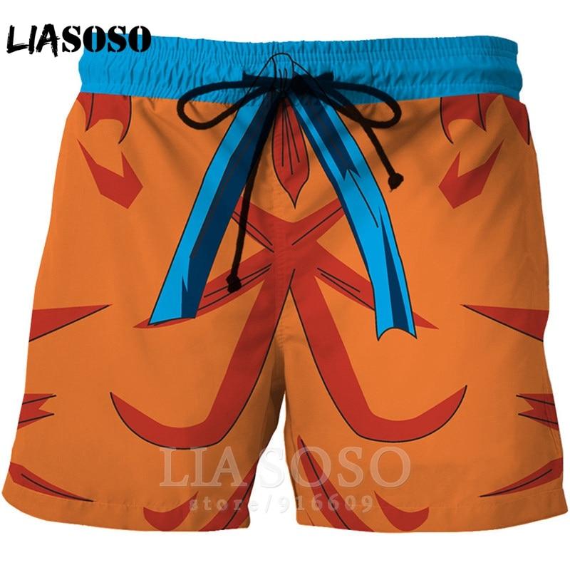 Fashion Dragon Ball Z Casual Anime Men Women Kids Board Swimsuit Goku Hip Hop Shirt Sports Harajuku Beach Sweatpants Shorts A170