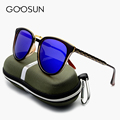GOOSUN NEW High quality Luxury brand sunglasses women designer Polarized Sun glasses Female coating sunglass with original box