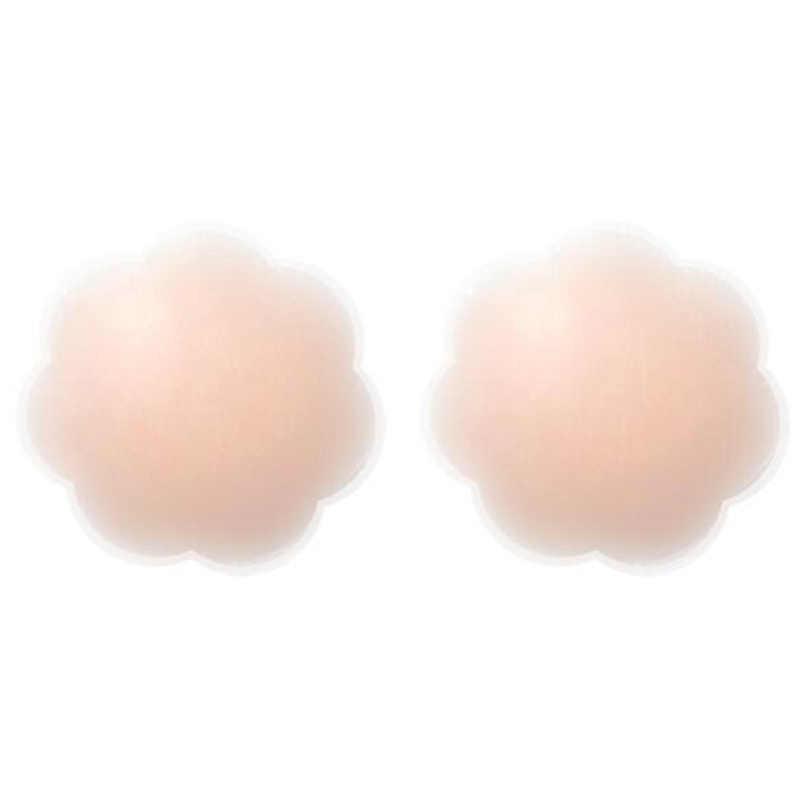 TERMEZY 1 Pairs قابلة لإعادة الاستخدام الذاتي لاصق سيليكون الثدي الحلمة غطاء الصدرية فطائر اللحم وسادة النساء سيليكون الثدي الصدر الملحقات