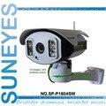SP-P1804SW SunEyes ONVIF IP Câmera Sem Fio Ao Ar Livre 1080 P Pan/Tilt Rotação 2.0MP Full HD com Slot Para Cartão TF Matriz IR Night 100 M