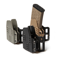 TB FMA New Tactical Airsoft Kydex AR 5 56 Magazine Pouch Carrier Nylon Black For Belt