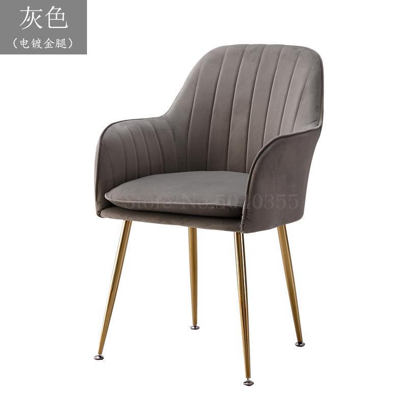 Современный дизайн, мягкий обеденный стул, модный прозрачный стул для гостиной, отдыха, мебель, стул-Лофт - Цвет: VIP 15