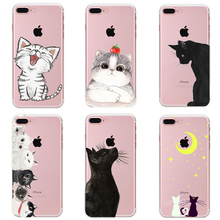 Case For iPhone 5S 5 6s 6 Plus Soft TPU Silicon Phone Case Cover For 7 Plus Case For iPhone 8 Plus Case For iPhone X 8 7 PC-072