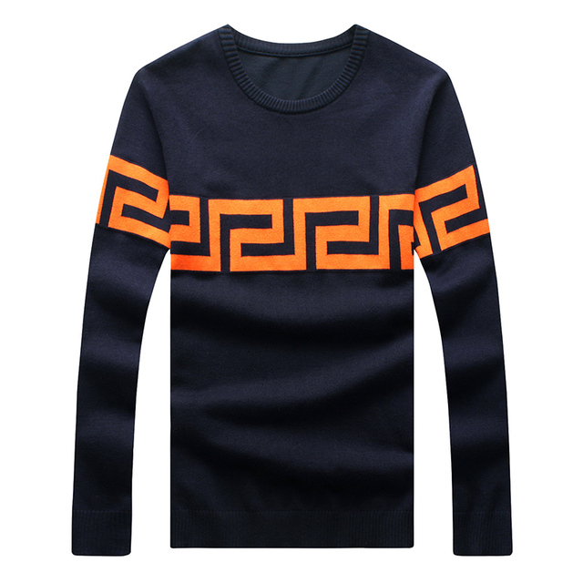 2017 novo design de homens camisola de malha e pulôveres malhas 3 cores 3XL 4XL 5XL A821 masculino