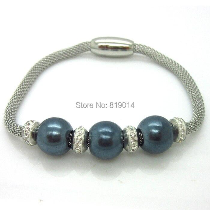 56323e3f2ae9 Nouvelle Arrivée Aimant Net Chaîne Bracelets Bracelets, Shambhala Imitation  Perle Bracelets Femmes Mode Archaize Bijoux