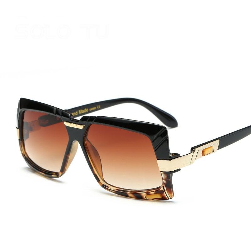 Steampunk Goggle Men Carter Oversized Sunglasses Brand Women Transparent Oculos Sun Glasses Driver Lunette Eyewear eyeglasses