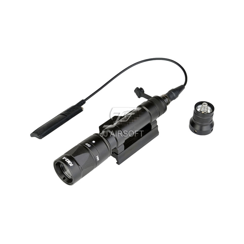 Element SF M600W Scout Light with QD Mount (Black/Tan) M600W LED Scout Flashlight