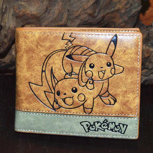 Naruto One Piece Pokemon Wallet Purse