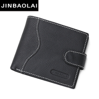 Wholesale Famous Brand Genuine Leather Man Wallet Leather With Coin Pocket For Carteira Masculina ZC8040