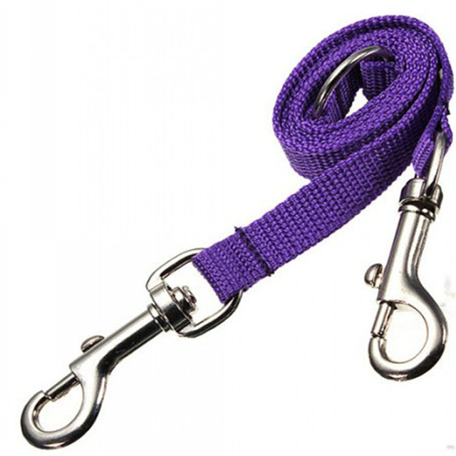 WALK 2 Two DOGS Leash COUPLER Double Twin Lead Walking Leash 3