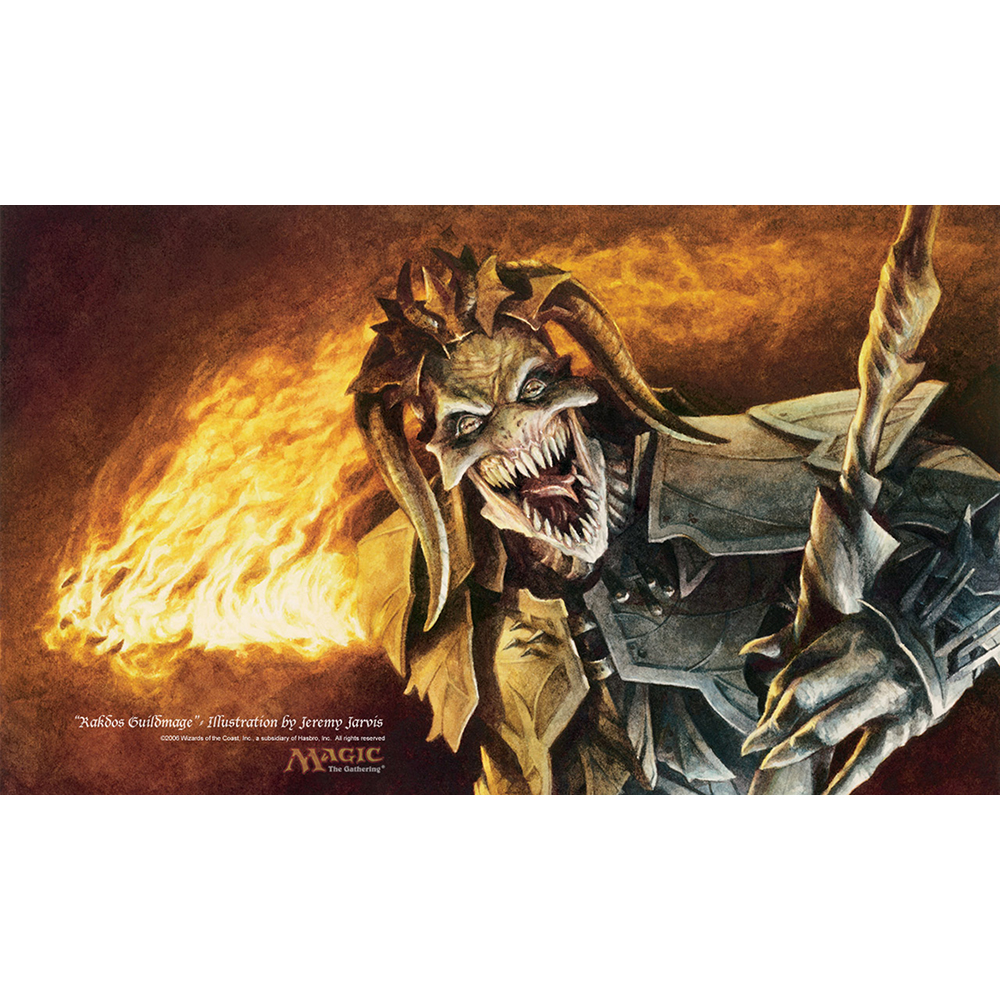 ( Rakdos ) Limited Edition 35X60CM MGT Game Playmat MGT Cards Game Playmat Can be Custom Printed