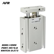 купить SMC Type Dual Rod Cylinder Basic TYPE double cylinder / double shaft cylinder CXSM10-10 CXSM10-15 CXSM10-20 -Z73 -Y59A дешево