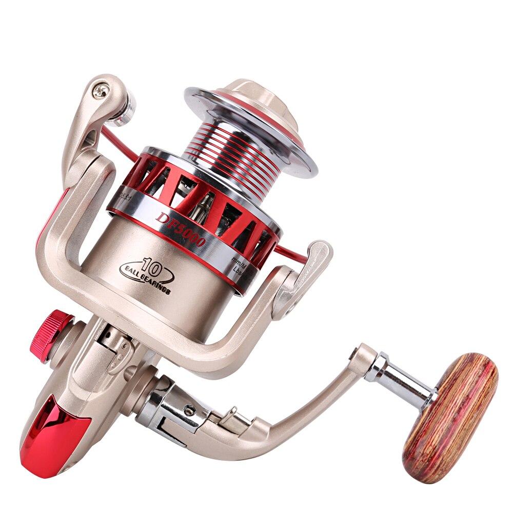 Yumoshi 5.5: 1 10BB Molinete Carp Fishing Reel Gear Rasio - Penangkapan ikan - Foto 3