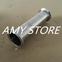 38MM 1 1 2 1 5 Sanitary Ferrule Straight Pipe Fitting SS304 Tri Clamp Spool Quick