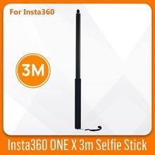 Insta360 אחד X הארכת מוט 3m Selfie מקל אלומיניום סגסוגת עבור Insta 360 אחד X חדרגל Selfie מוט פנורמה אביזרי מצלמה