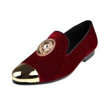 Harpelunde/мужские красные модельные свадебные туфли; Пряжка