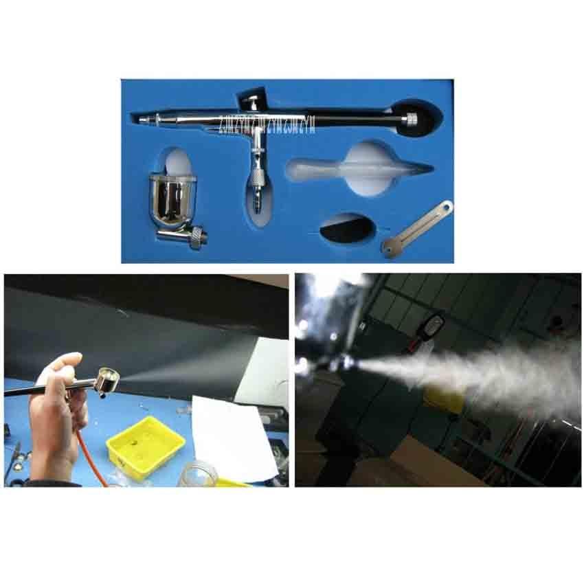 Модель краски пигменты воздушный насос Аэрограф сенсорная ручка аэрографа пневматический инструмент 8732 нержавеющая сталь Материал иглы 0,3