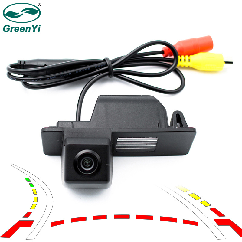 GreenYi Intelligent Trajectory Vehicle Backup Camera for Chevrolet Aveo Trailblazer Cruze Wagon Opel Mokka Cadillacs SRX CTS 0