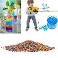 Water Gun Bullet Shells Crystal Colored Water Ball Multi Color Water Beads Mud Grow Magic Balls Random Color VBD66 P14 0.5