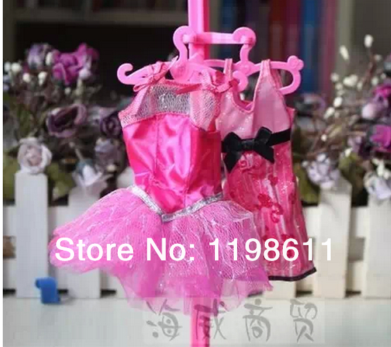 60pcs/lot ,Free Delivery, 60pcs doll garments hanger hangings For Monster toys Excessive Doll,for Barbie doll
