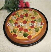 Pudding pipe pizza food model film props customize Shrimp sausage dishes simulation model sample food dishes film props FRIENZE