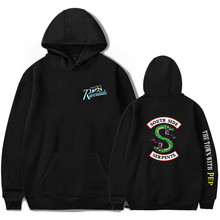 Riverdale Hoodies Sweatshirts Southside Serpents Pullover Long Sleeve Hoodie Coats Casual Unisex Couple Clothes Sweatshirt