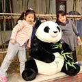 Fancytrader Гигантские Kawaii Panda Плюшевые Игрушки Большие Мягкие Мягкие игрушки Панда Кукла 110 см Приятный Подарок и Украшение